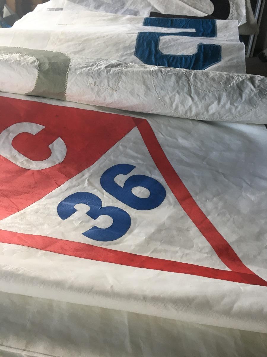recycled sail cloth mainsail insignia
