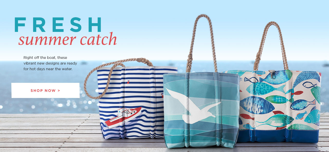 Fresh Summer Bags Made From Recycled Sails