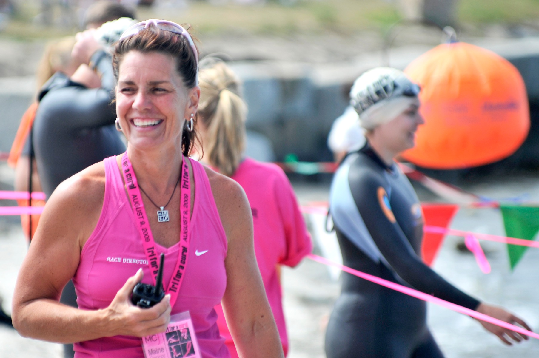 Julie Marchese at Tri for a Cure