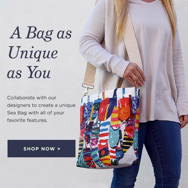 A Bag as Unique as You Are - Design Your Own Custom Sea Bag