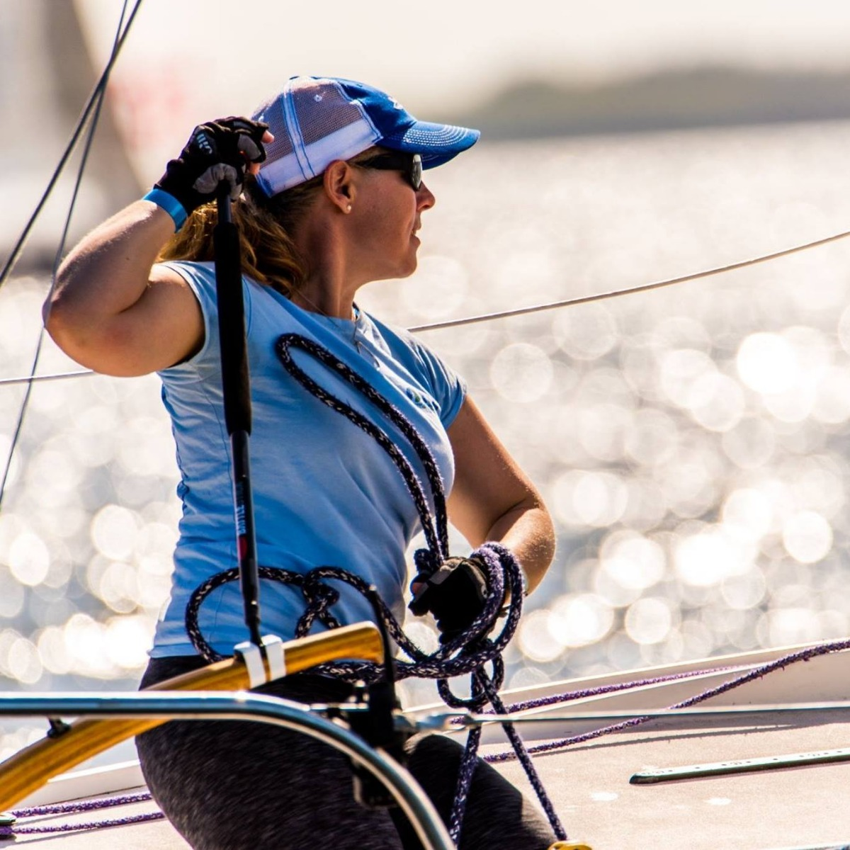 Skipper Erica Beck Spencer was named the Top Female Skipper at J/24 National Championships