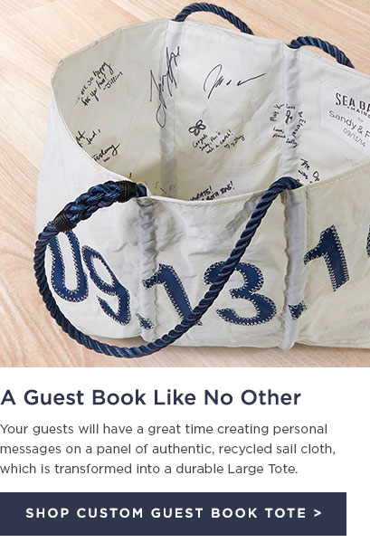 Custom Guest Book Totes
