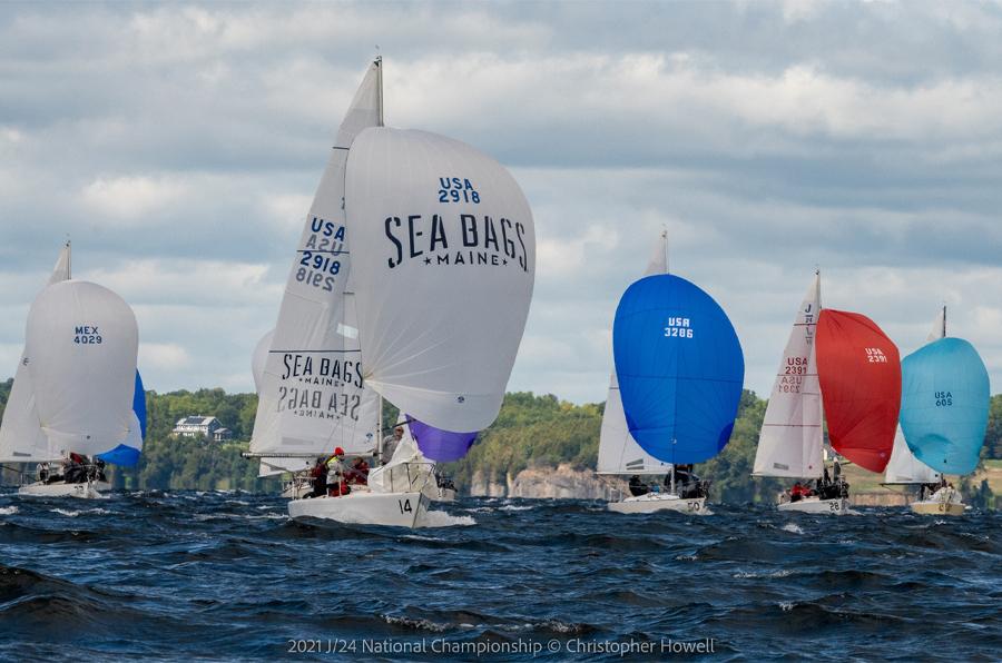 Sea Bags Sailing Team J24 Nationals 2021