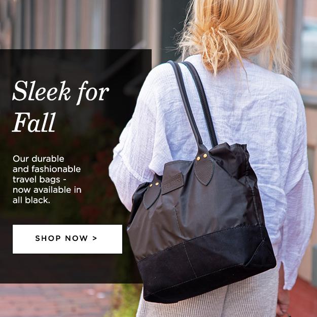 New Black Chebeague Handbag and Tote