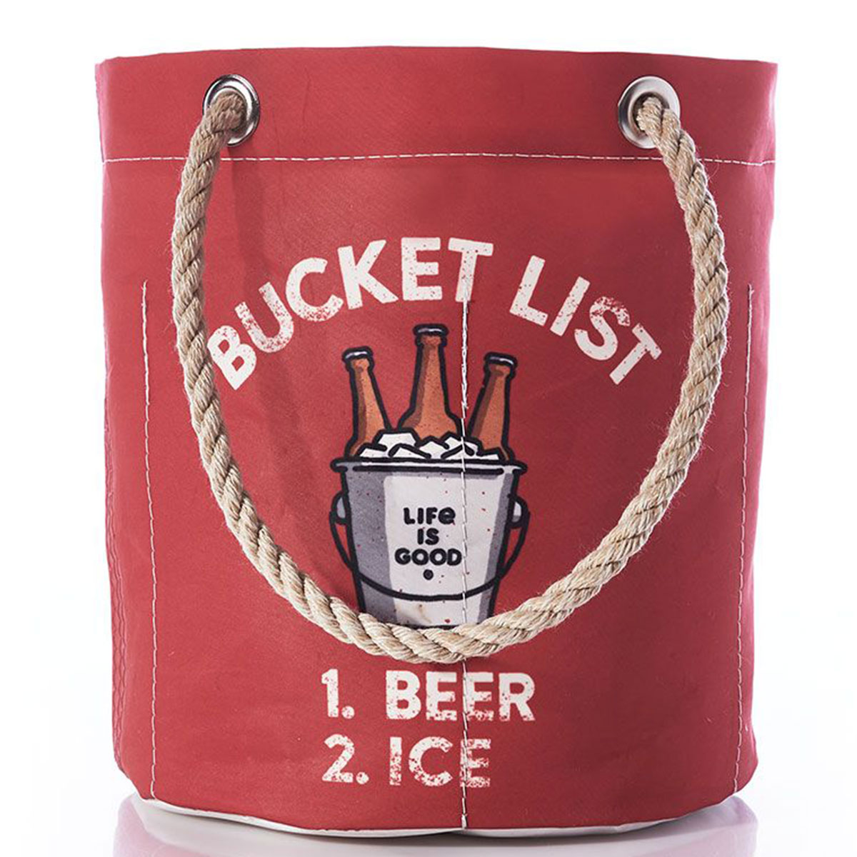 life is good fathers day beverage bucket