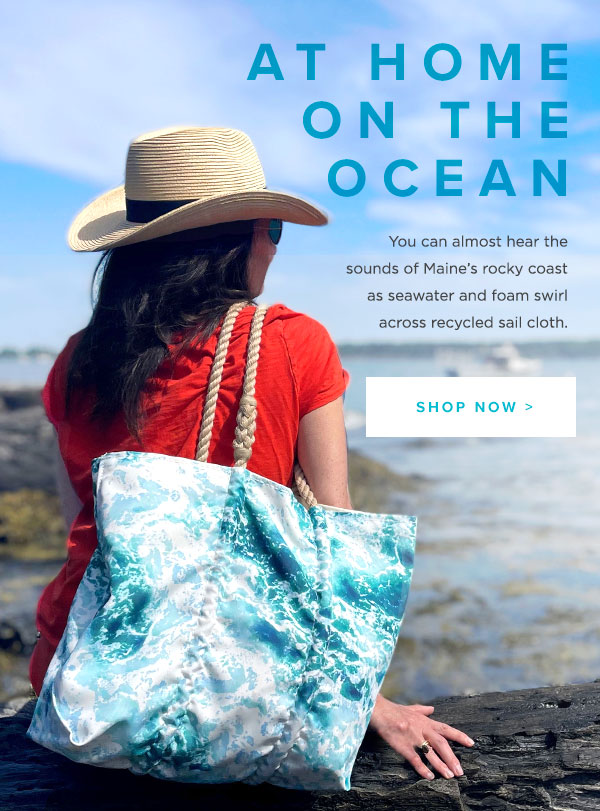 Made from the Recycled Sail Cloth - New Surf Tote