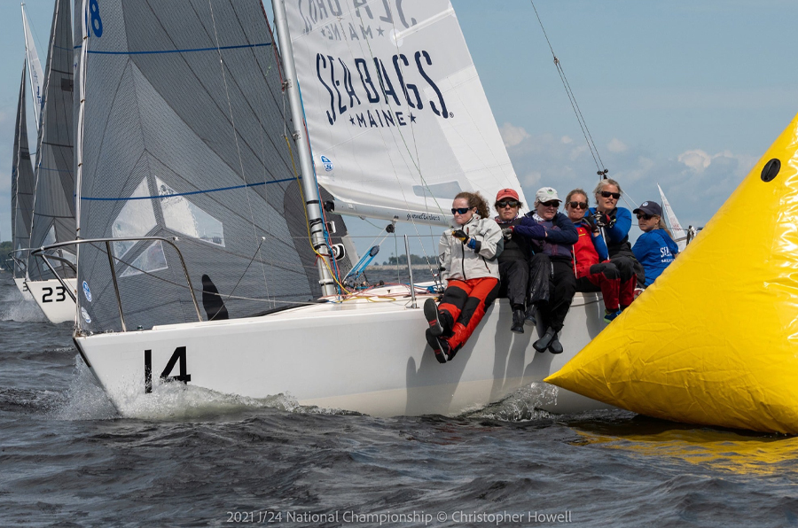 The Sea Bags Saling Team Skipper and Crew