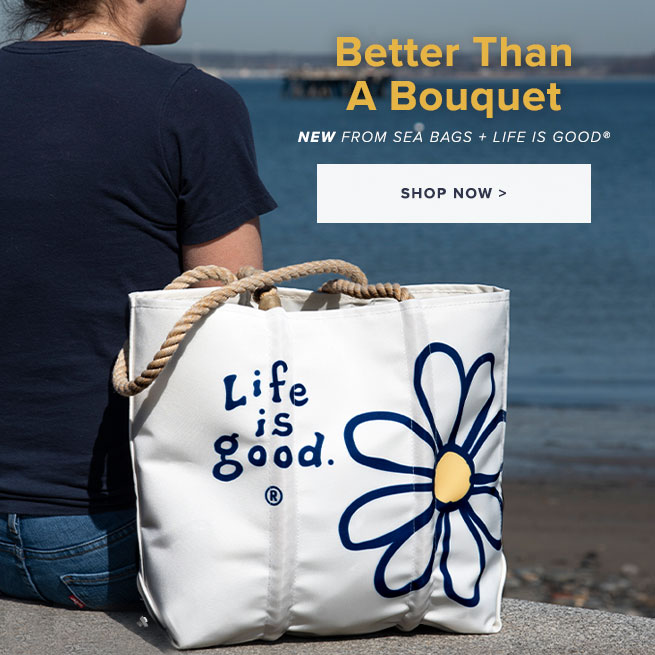 New Daisy Tote from Sea Bags and Life is Good