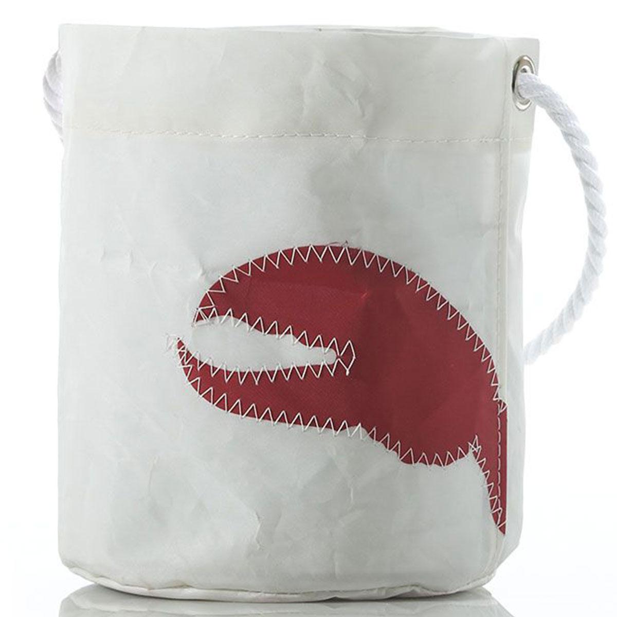 lobster claw sail cloth bucket