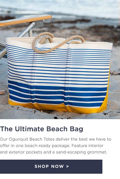 The Ultimate Beach Bag - Ogunquit Beach Tote