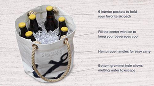 Anatomy Of A Beverage Bucket Bag