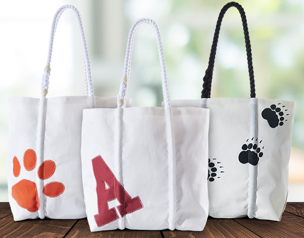 Custom Totes - customized to your schools mascot