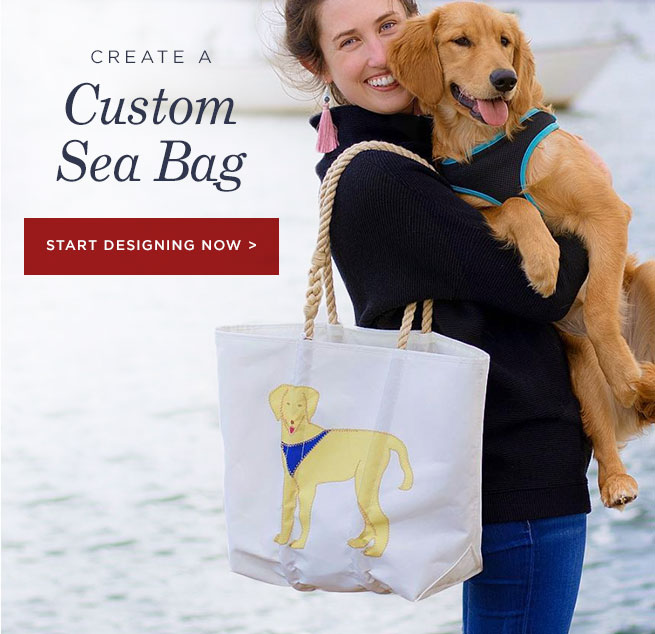 Gift a Custom Sea Bag