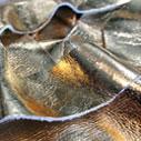 Metallic Leather Appliqué