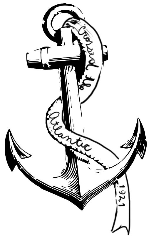 The anchor is the most famous of the nautical tattoos