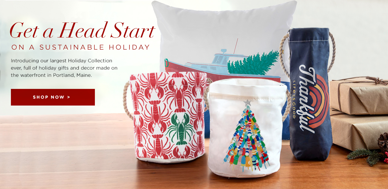 Get a Headstart on a Sustainable Holiday - Shop the Holiday Collection