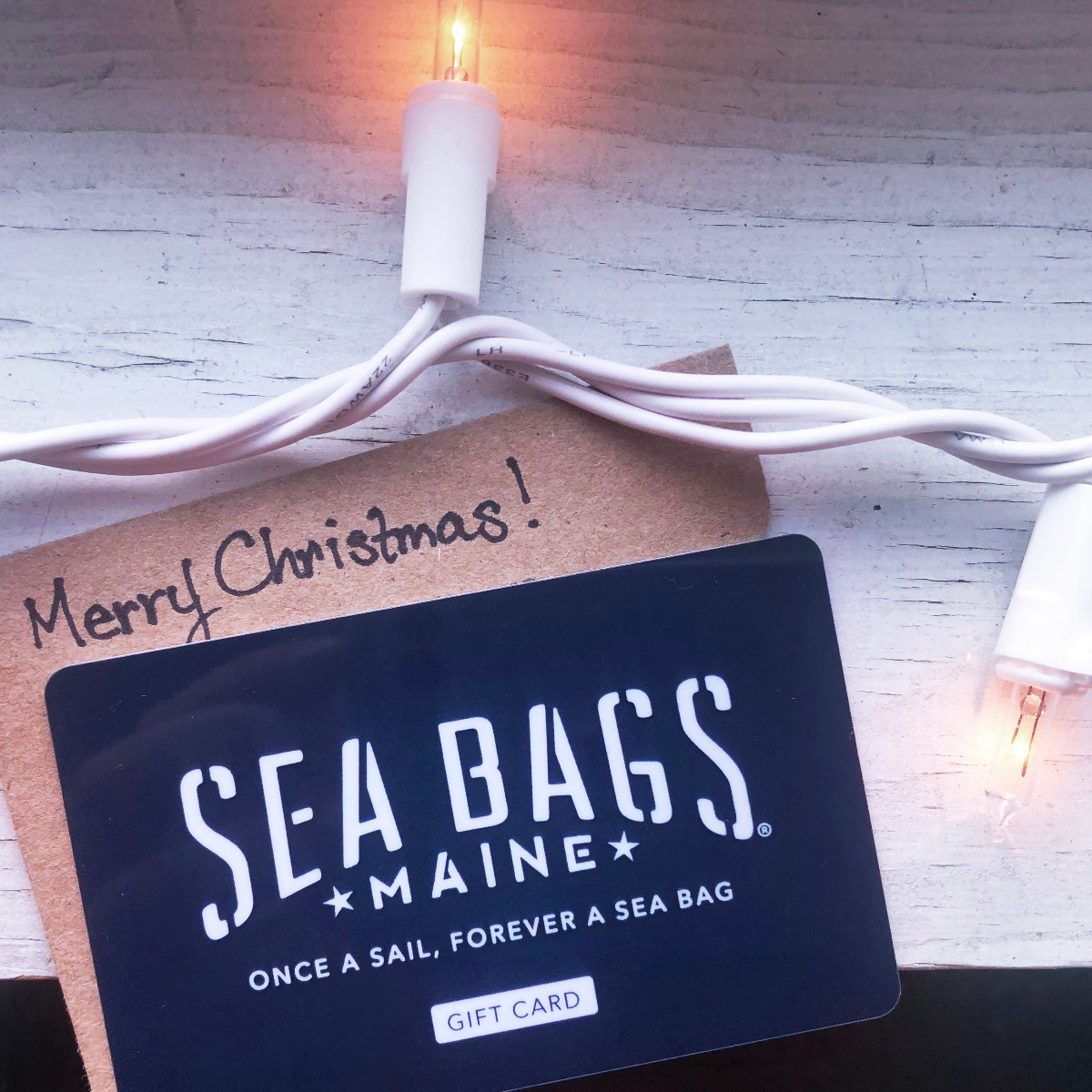 sea bags sustainable gift card