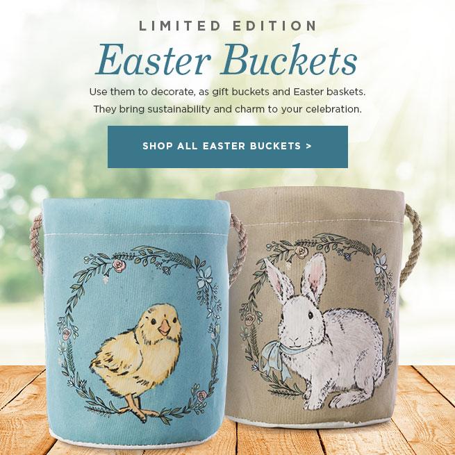 Easter Bucket Bags