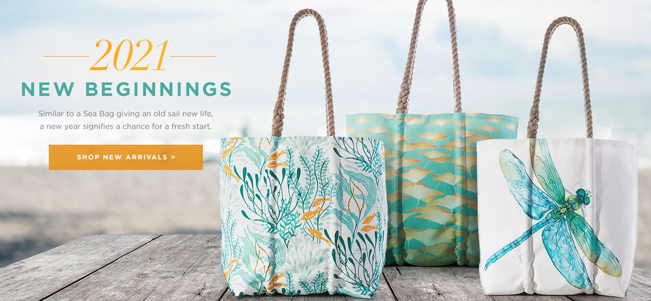 New Recycled Sail Bags for the New Year