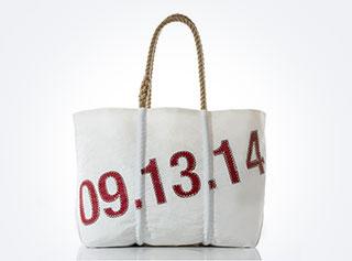 Sea Bags Custom Date Tote