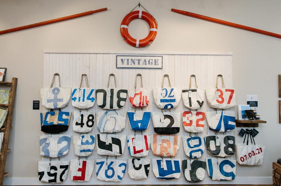 Boat Oars Fixture in Charlevoix Store