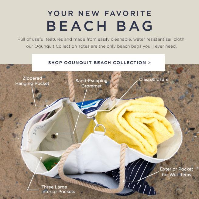The Ultimate Beach Bag - Shop Ogunquit Beach Collection