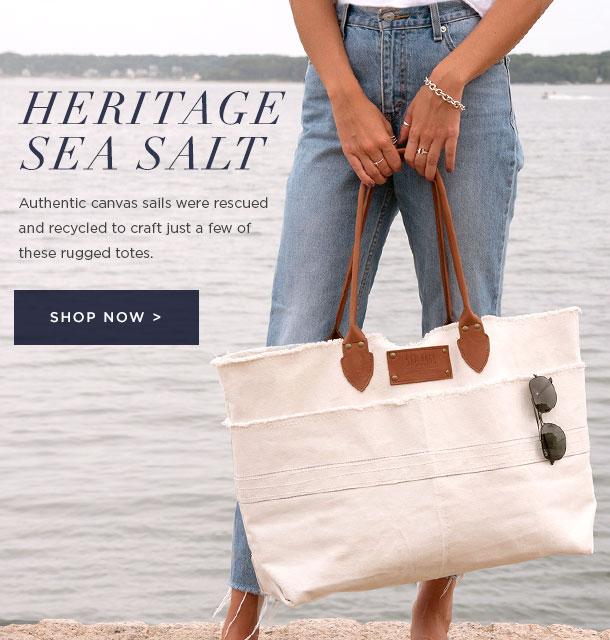 New Heritage Sea Salt Tote
