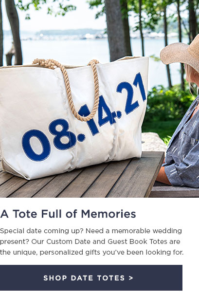 Guest Book and Date Totes