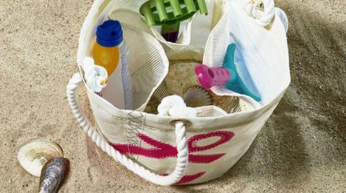 Beachcomber Bucket Bags