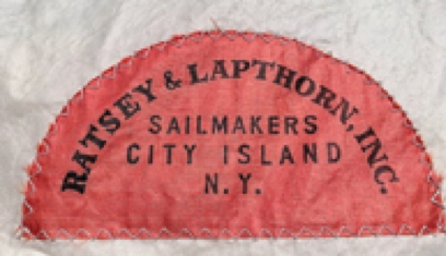 Ratsey and Lapthorn sailmakers mark