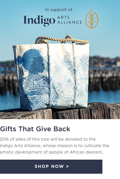Island Girl Tote - 20% donated to Indigo Arts Alliance