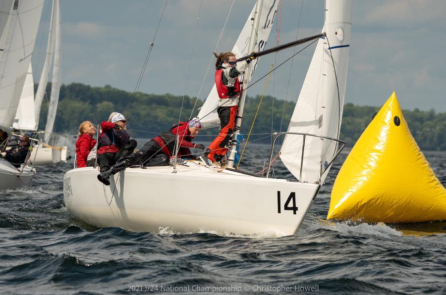 Sea Bags Sailing Team Race Action