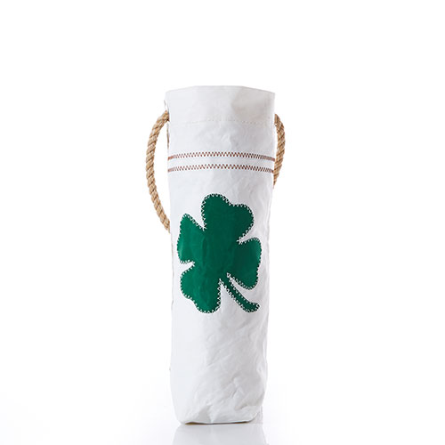 Four Leaf Clover Wine Bag