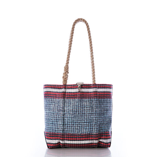 Basketweave Handbag