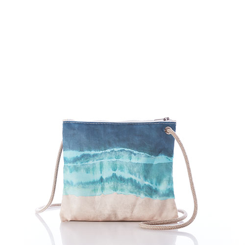 Shoreline Tie Dye Slim Crossbody Bag