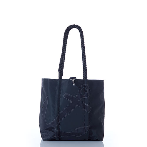 Black-on-Black Anchor Handbag