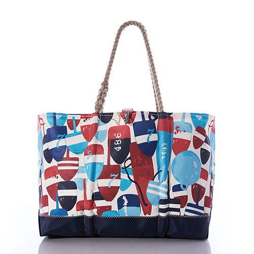 Americana Buoys Ogunquit Beach Tote