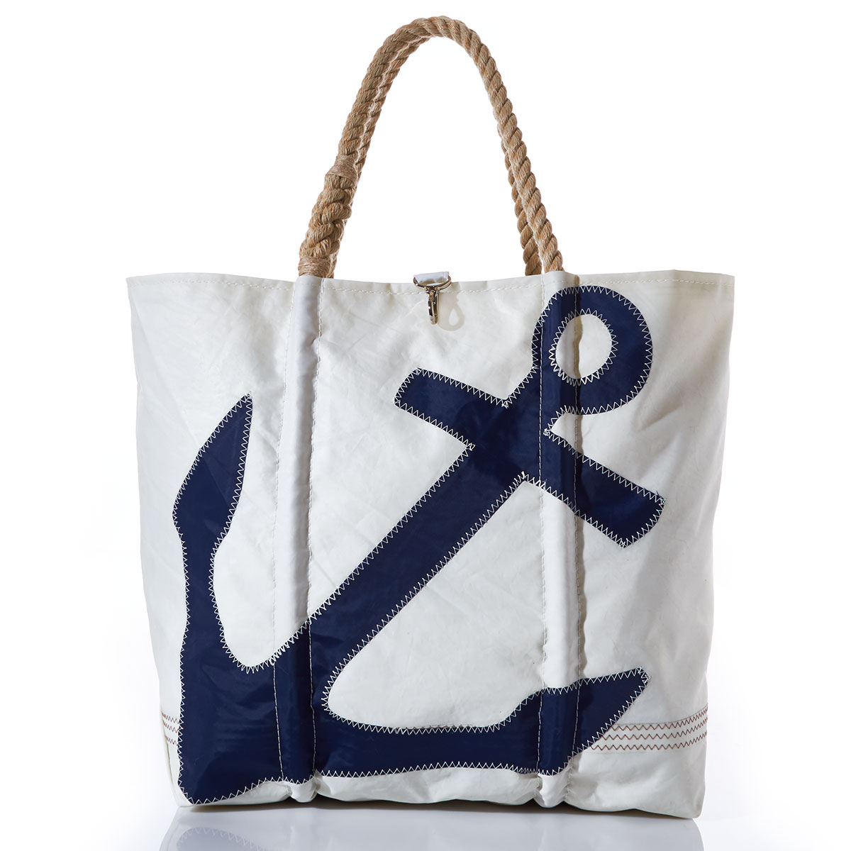 X-Large Navy Anchor Tote