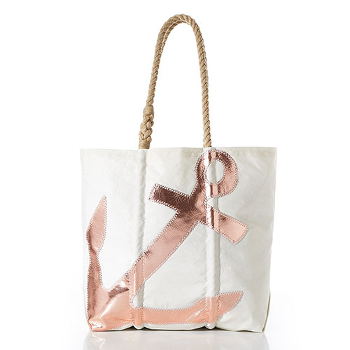 Rose Gold Anchor Tote