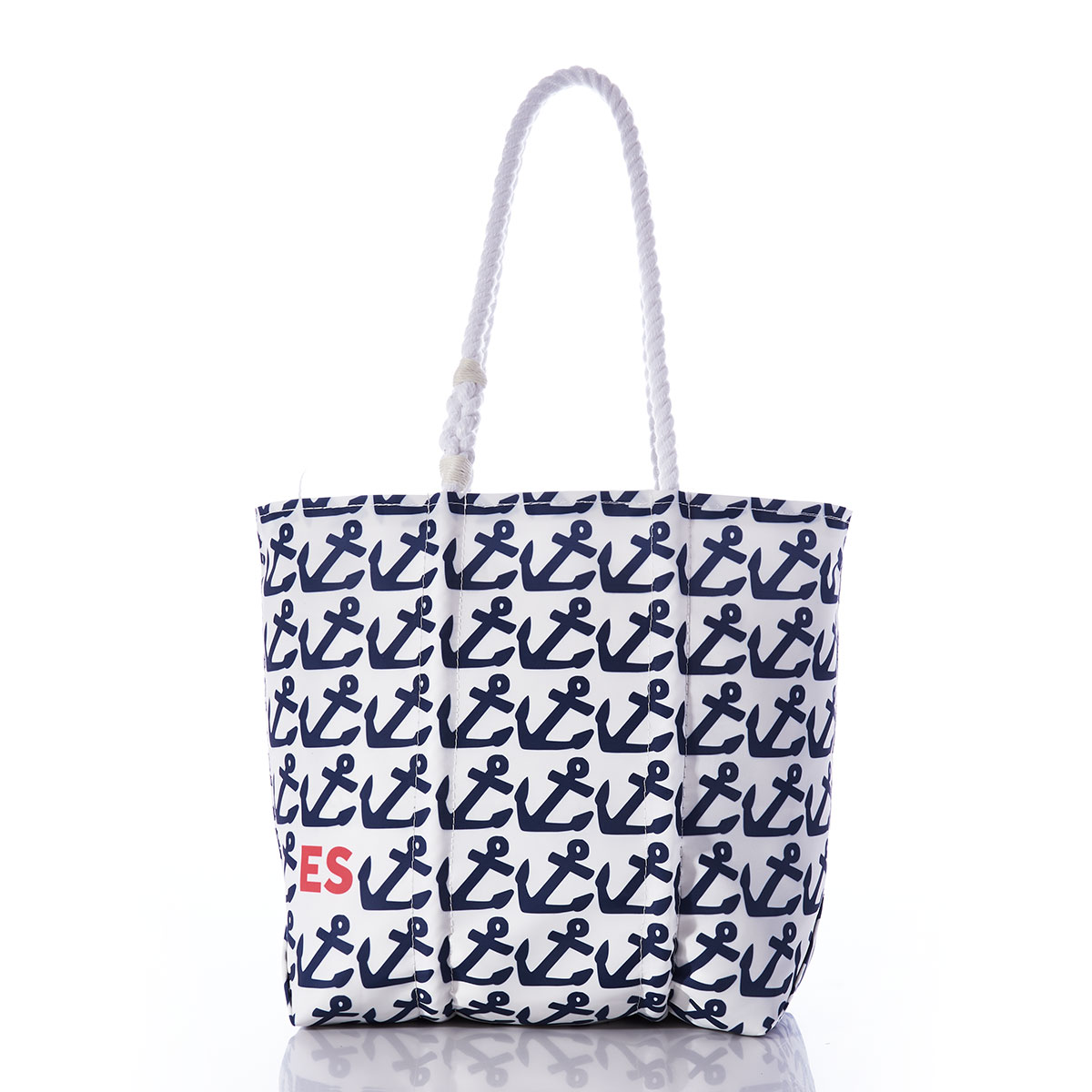 Custom Monogram-Pop Anchor Tote