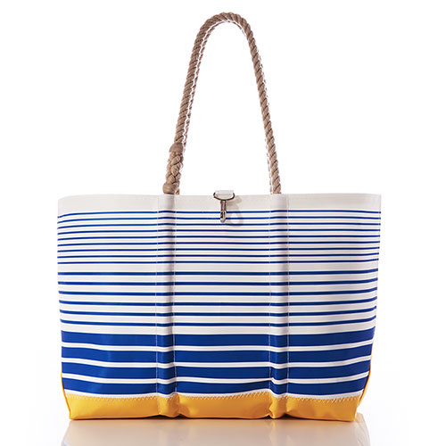 Blue Ogunquit Beach Tote