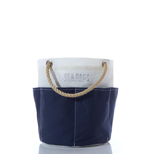 All Purpose Navy Tool Bucket Bag