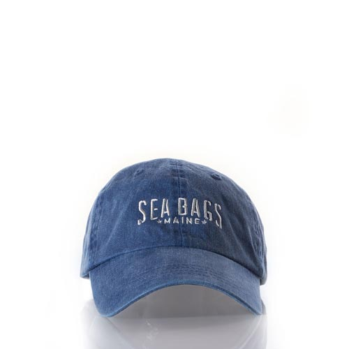 Sea Bags Baseball Hat - Distressed Navy