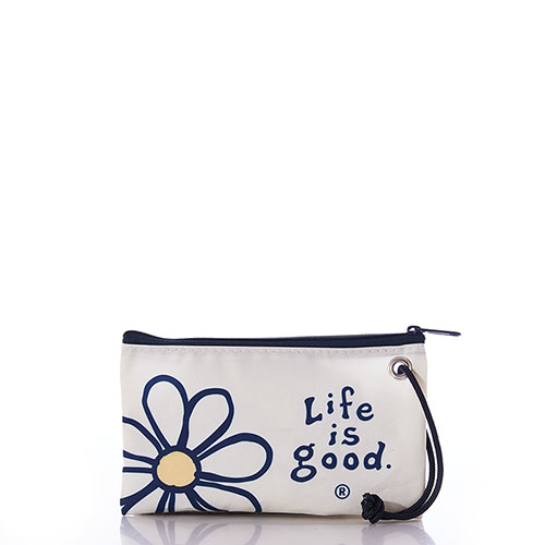 Life is Good Classic Daisy Wristlet
