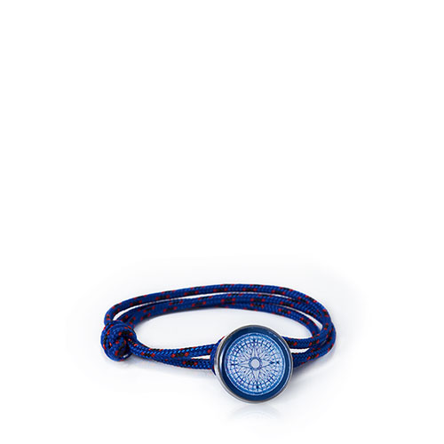 Compass Rose Maritime Rope Bracelet