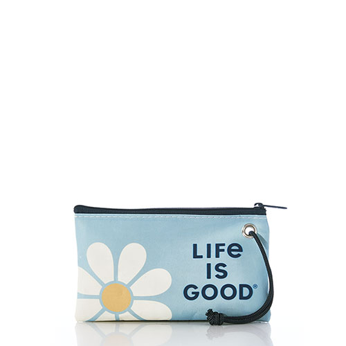 Daisy Life is Good Wristlet