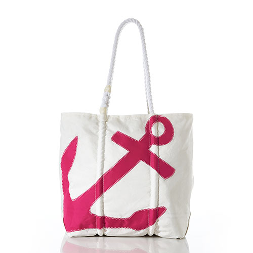 Fuchsia Anchor Diaper Bag