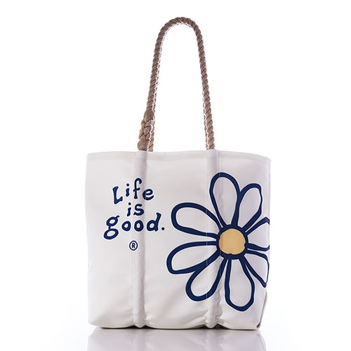 Life is Good Classic Daisy Tote