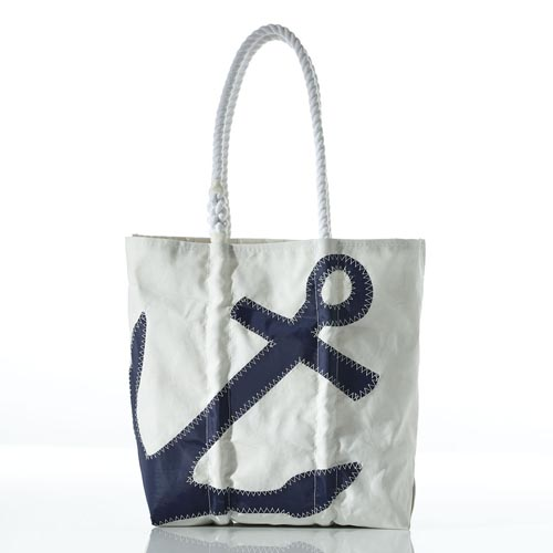 Anchor Tote with Pockets