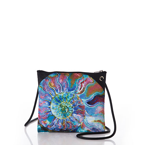 Multicolor Nautilus Slim Crossbody Bag